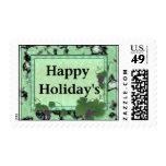 Happy Holiday's Postage