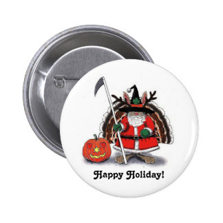 Happy Holiday! - Button