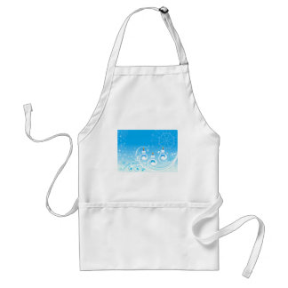 Happy Holiday Candles Adult Apron