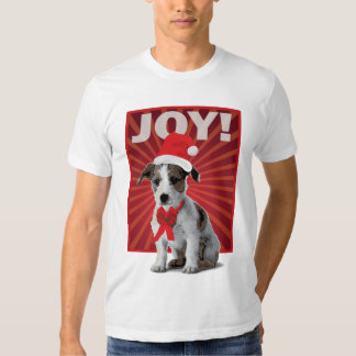 Happy Holiday Dog - Jack Russell T Shirt