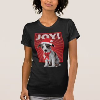 Happy Holiday Dog - Jack Russell T Shirts