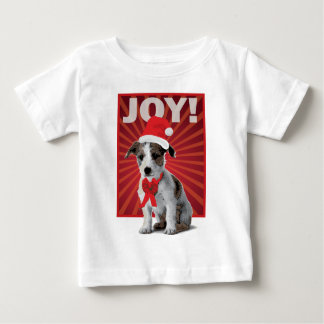 Happy Holiday Dog - Jack Russell Tee Shirts