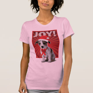 Happy Holiday Dog - Jack Russell Tees