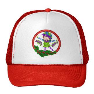 Happy Holiday Elf Trucker Hat