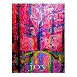 Happy Holiday Joy Postcard