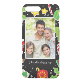 Happy Holiday Merry Christmas Family Photo Picture iPhone 8 Plus/7 Plus Case
