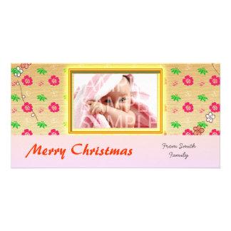Happy holiday photo greeting card photo card