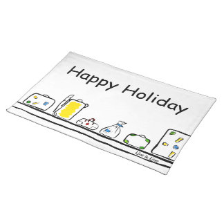 happy Holiday Placemat