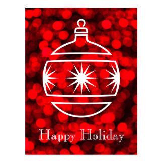 Happy Holiday Postcard