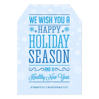 Happy Holiday Season Corporate Healthcare Cards
