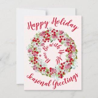 Happy Holiday Seasonal Greetings Reef