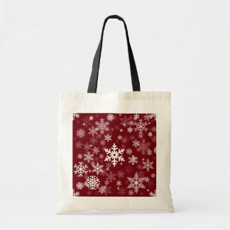 Happy Holiday Snowflakes Pattern for Everyone Bags