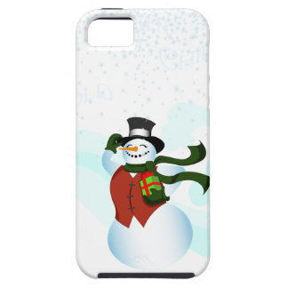 Happy Holiday Snowman iPhone SE/5/5s Case