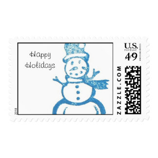 Happy Holiday Stamp #1