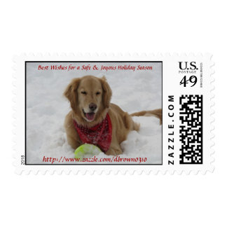 Happy Holiday Stamp