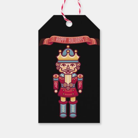 Happy Holiday/Toy Soldier/ Christmas Gift Tag