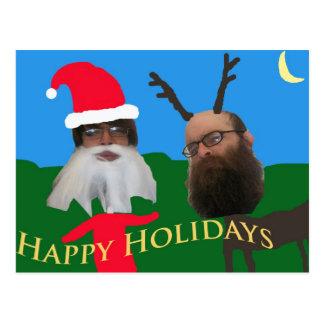 happy holidays 1 postcard