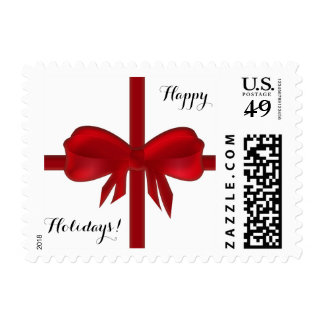 Happy Holidays 1st Class Small Stamps