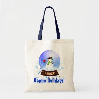 Happy Holidays - 2009 Snowglobe Gift Bag