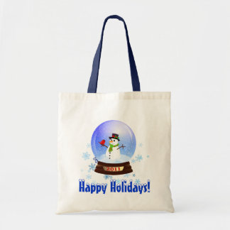 Happy Holidays - 2011 Snowglobe Gift Bag