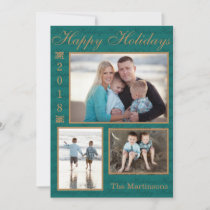 Happy Holidays 2018 Picture Card - PERSONALIZE IT!
