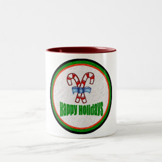 Happy Holidays 2 Mug