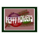 Happy Holidays 3 Greeting Card