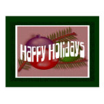 Happy Holidays 3 Postcard