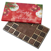 Happy Holidays 45 Piece Assortment/Christmas 45 Piece Box Of Chocolates