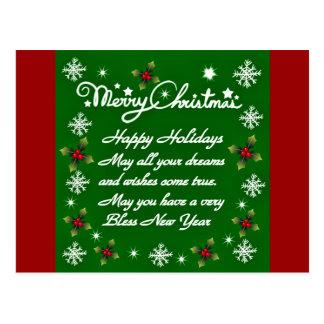 Happy Holidays#4_ Postcard