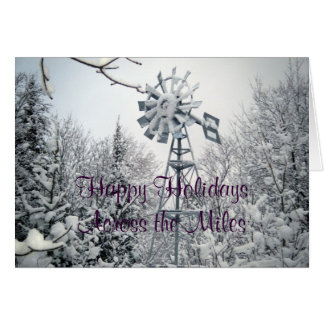 Happy Holidays Across the Miles Card