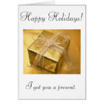 Happy holidays! (Agency greetings) Cards