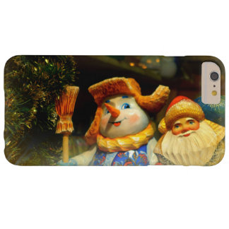 Happy Holidays Barely There iPhone 6 Plus Case