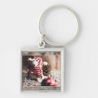Happy Holidays Bear! Keychain