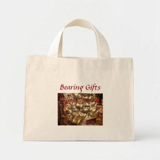 Happy Holidays - Bearing Gifts - Jumbo Tote Bag