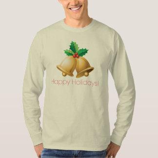 Happy Holidays Bells T-shirt