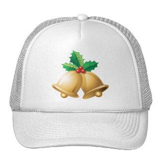Happy Holidays Bells Trucker Hat