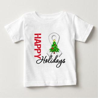 Happy Holidays Bone Cancer Awareness T Shirt