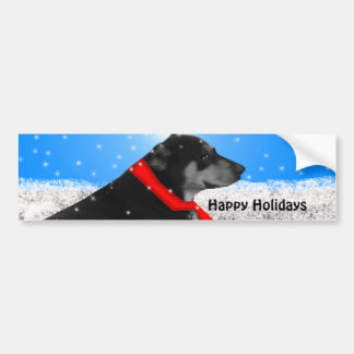 happy holidays bumper stickers