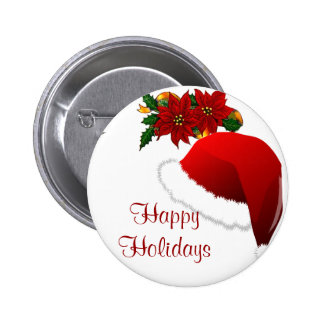Happy Holidays_ Buttons