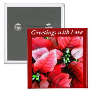 Happy Holidays_ Pinback Button