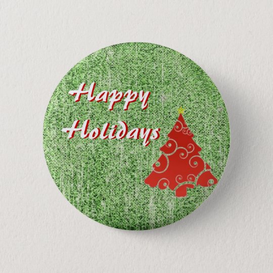 Happy Holidays Button