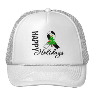 Happy Holidays Carcinoid Cancer Awareness Trucker Hat