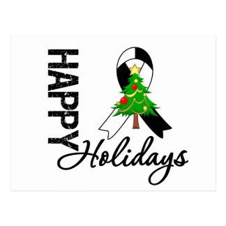 Happy Holidays Carcinoid Cancer Awareness Postcard