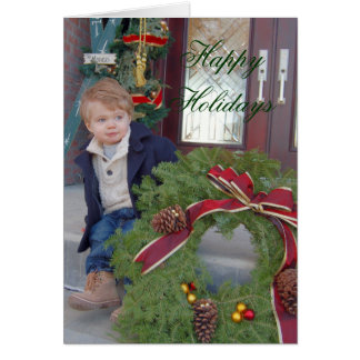 , Happy Holidays - Card