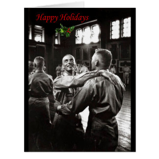 Happy Holidays Large Greeting Card