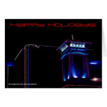 Happy Holidays Card by David M. Bandler