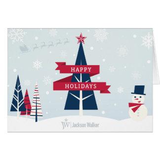 """Happy Holidays"" Card Option 1"