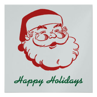 Happy Holidays Card Personalized Invitations