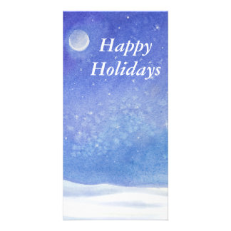 Happy Holidays card Personalized Photo Card
